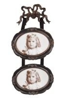 clayre-eef-ovalen-tweeluik-met-strik-bovenaan