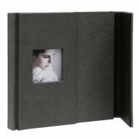 fotoalbum-fotodoos-leder-of-kunstleder-fotoalbum-grijs-met-magneetsluiting-met-24-zwarte-paginas-imitatieleder