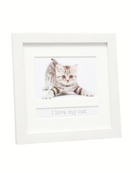 fotokader-kunststof-wit-met-passepartout-tekstvak-i-love-my-cat