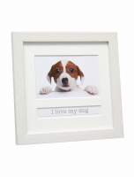 fotokader-kunststof-wit-met-passepartout-tekstvak-i-love-my-dog