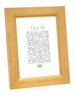 wanddecoratie-hout-fotolijst-handgeschilderd-in-goudkleur-mat-glas