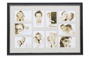 fotokader-kunststof-pele-mele-zwart-geschilderd-met-bies-voor-10-fotos-10x15cm