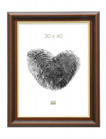 fotokader-hout-fotolijst-glanzend-bruin-met-gouden-bies-klassieke-stijl-bruges-50cm