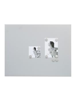 magneetbord-en-magneten-metaal-magneetbord-mat-zilver-8-ronde-magneten