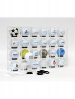 fun-deco-kunststof-pakket-plexidoosjes-5x5-met-ringen-voor-presentatie-golfballen-24st
