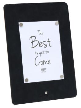 wanddecoratie-kunststof-magneetbord-in-zwart-leder