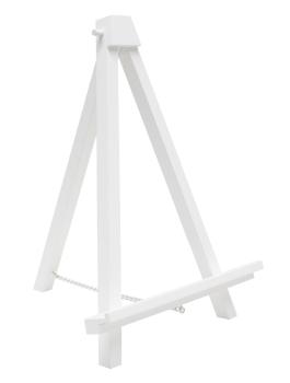 fun-deco-hout-schildersezel-wit-33cm