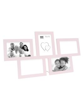 fotokader-hout-multifotolijst-pastelroze-hout-5-fotos-10x15