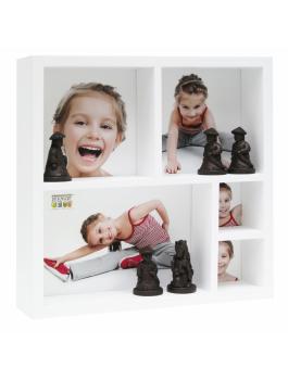 fun-deco-hout-foto-verzamelbox-wit-voor-5-fotos-20x20cm
