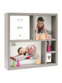 fun-deco-hout-foto-verzamelbox-taupe-voor-5-fotos-20x20cm