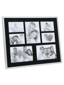 fotokader-metaal-multifotolijst-in-mat-zilverkleur-met-zwarte-passe-partout-voor-7-fotos
