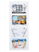 accessoires-en-diversen-hout-multifotolijst-wit-met-4-metalen-houders-voor-meerdere-fotos