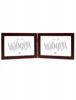 fotokader-hout-tweeluik-bruin-hout-horizontaal