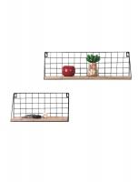 wanddecoratie-metaal-wandrek-in-metaal-met-hout-set-van-2