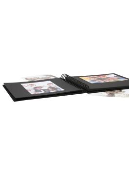fotoalbum-fotodoos-textiel-spiraalalbum-zwart-linnen-met-48-zwarte-paginas