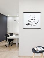 wanddecoratie-hout-poster-kader-in-zwart-hout