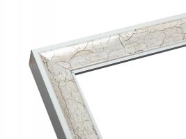 wanddecoratie-hout-zilverkleurige-houten-fotokader-met-donkerbruine-craquele-afwerking