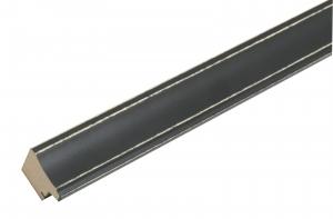 fotokader-hout-zwart-geschilderd-smal-hout