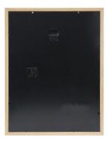 wanddecoratie-hout-smalle-fotolijst-in-eikkleur-met-passe-partout-voor-foto-13x13cm