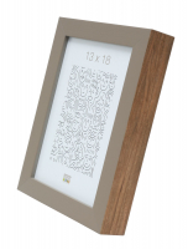 wanddecoratie-hout-houten-fotokader-in-beige-met-houtkleurige-zijkant