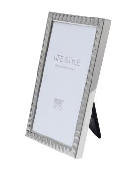 wanddecoratie-metaal-fotokader-in-zilverkleurig-metaal-met-blokjesmotief