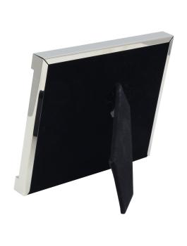 wanddecoratie-metaal-fotokader-met-rand-in-zilver-en-met-glittersteentjes
