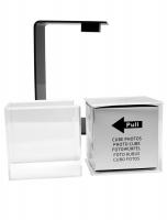 fun-deco-kunststof-draaibare-kubus-in-plexi-in-zwarte-houder-6x6x6cm