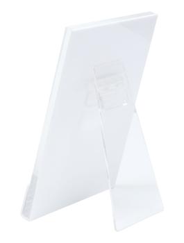 wanddecoratie-kunststof-fotohouder-in-wit-met-staander