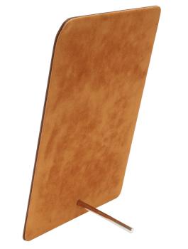 wanddecoratie-kunststof-magneetbord-in-bruin-leder