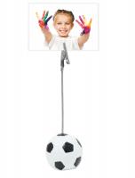 fun-deco-metaal-fotoclip-met-voetbal-125cm-hoog