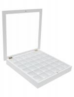 fun-deco-hout-verzamelkader-wit-voor-golfballen-36st-in-formaat-40x40cm-64st-in-50x50cm-ringen-inbegrepen