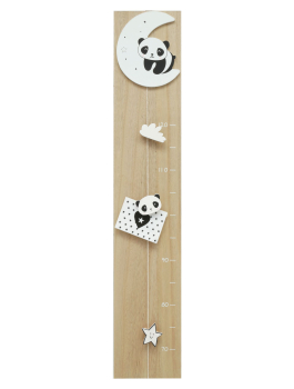 wanddecoratie-hout-groeimeter-in-naturel-hout-met-maan-en-panda