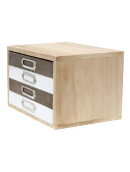 wanddecoratie-hout-decoratieve-fotodoos-naturel-hout-met-4-albumlades