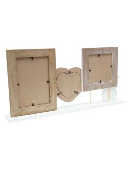 wanddecoratie-hout-fotohouder-met-2-lijsten-in-wit-en-houtkleuren