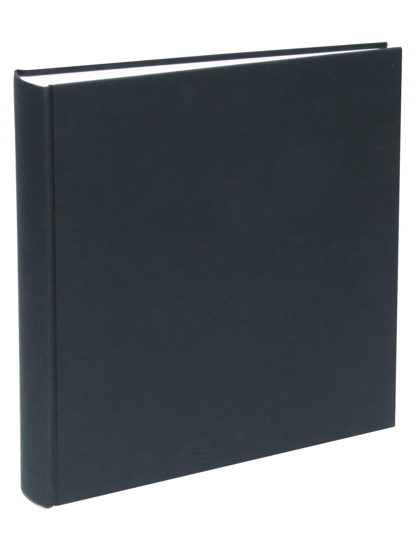 kleefalbum zwart, linnen, 100 bladzijden A10D20 100SI