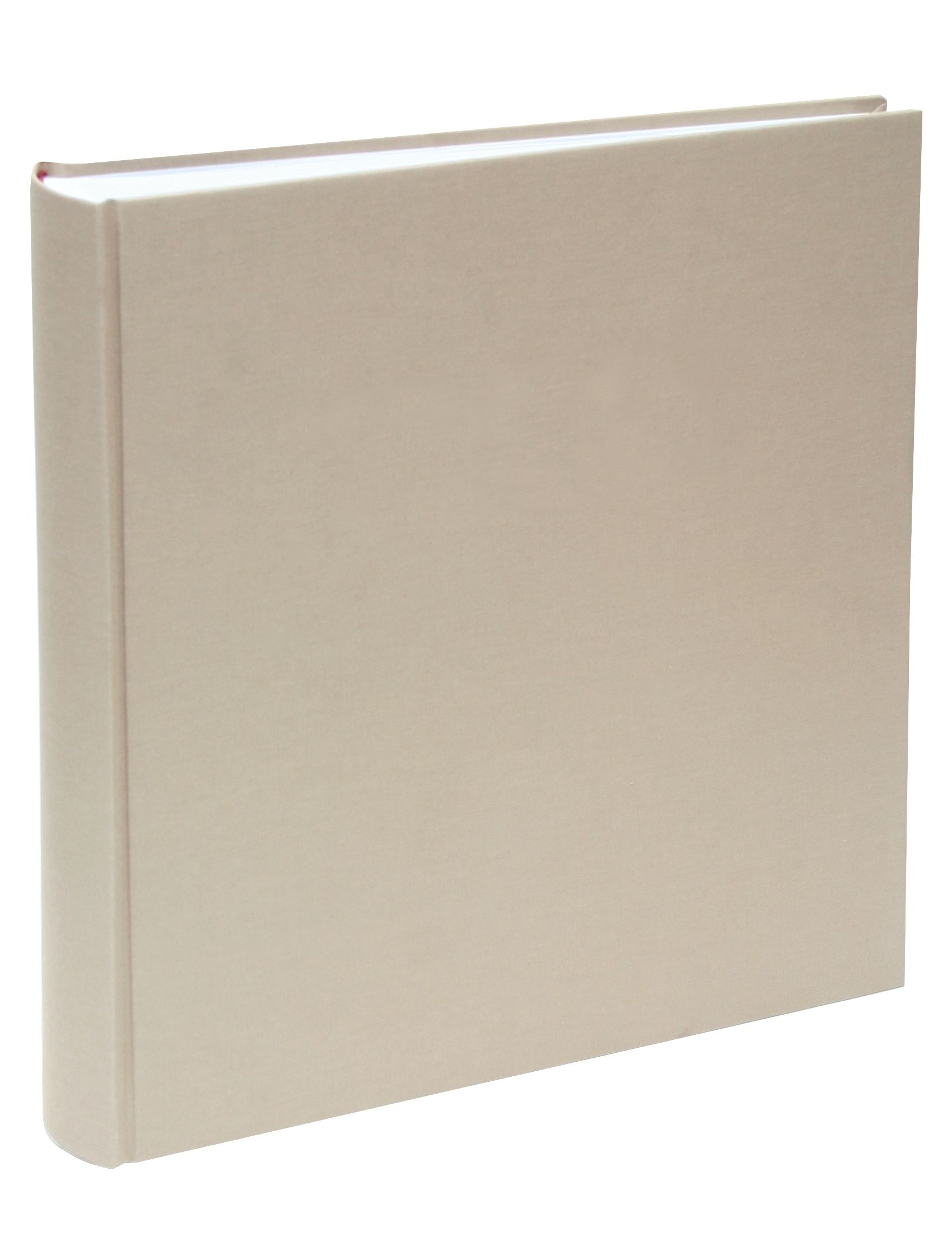 kleefalbum beige, linnen, 100 bladzijden A10D30 100SI