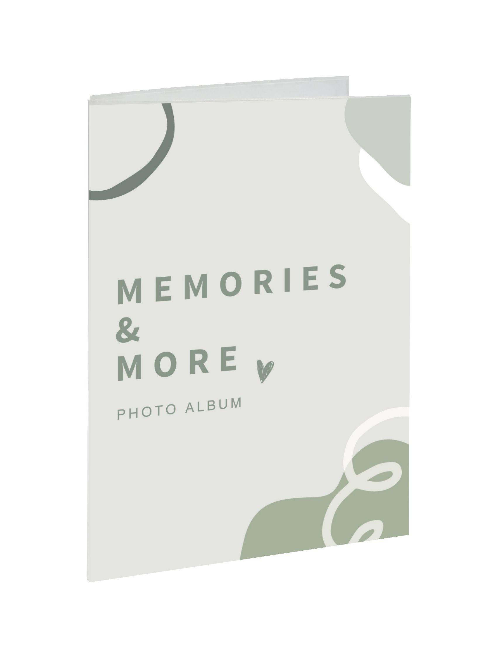 Slip-in fotoalbum, met display, mix van 2 kleuren, voor 36 foto's 10x15cm A50G90 36PH