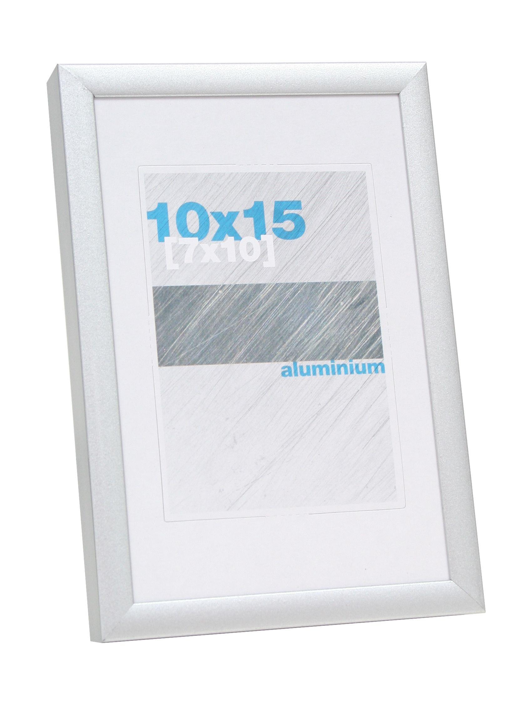 aluminium, mat zilver, 9mm S024D1