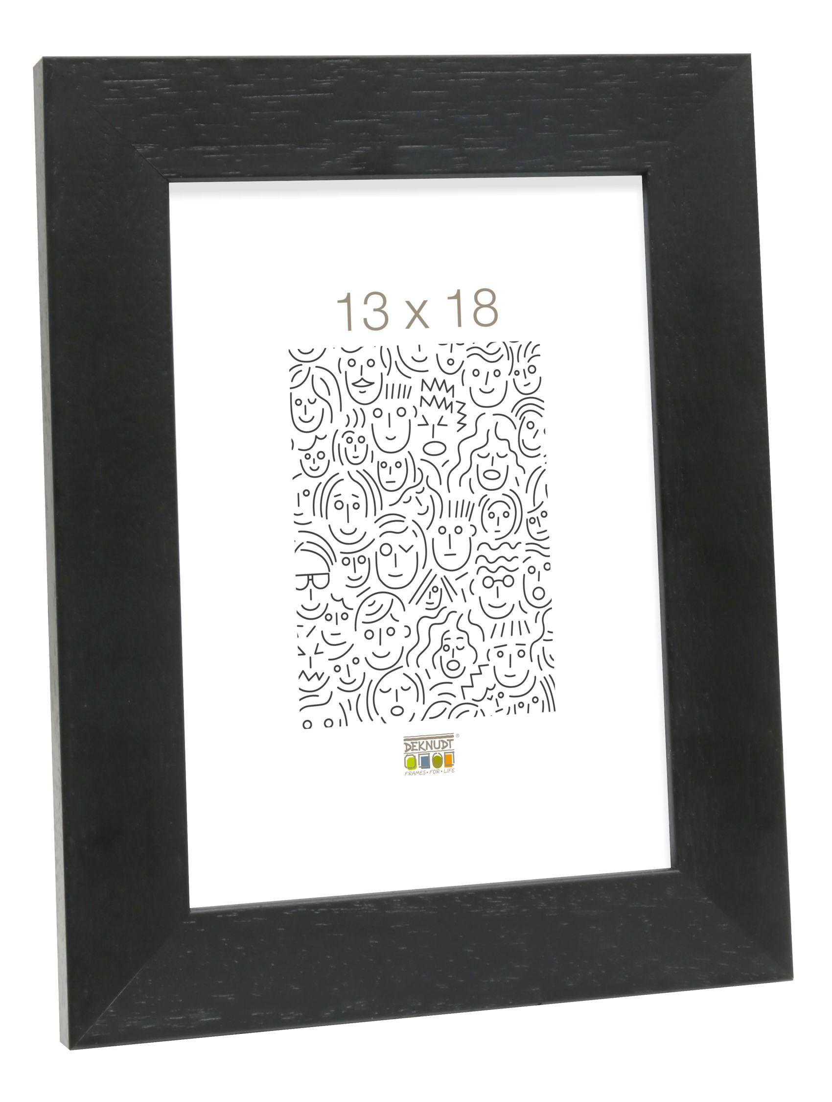 Basic, breed zwart hout S226K2