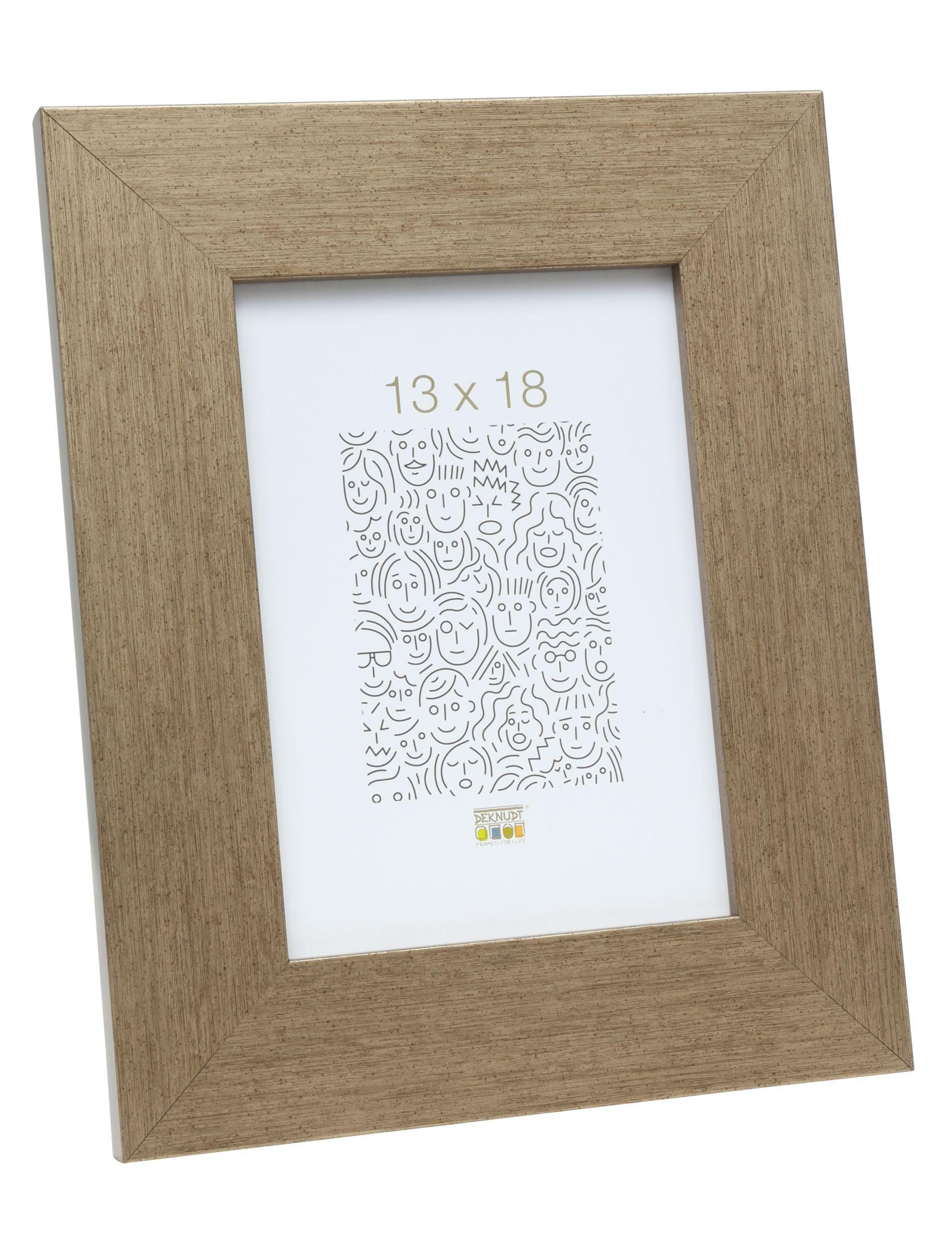 fotokader hout, brons     4.4cm breed S43BD2