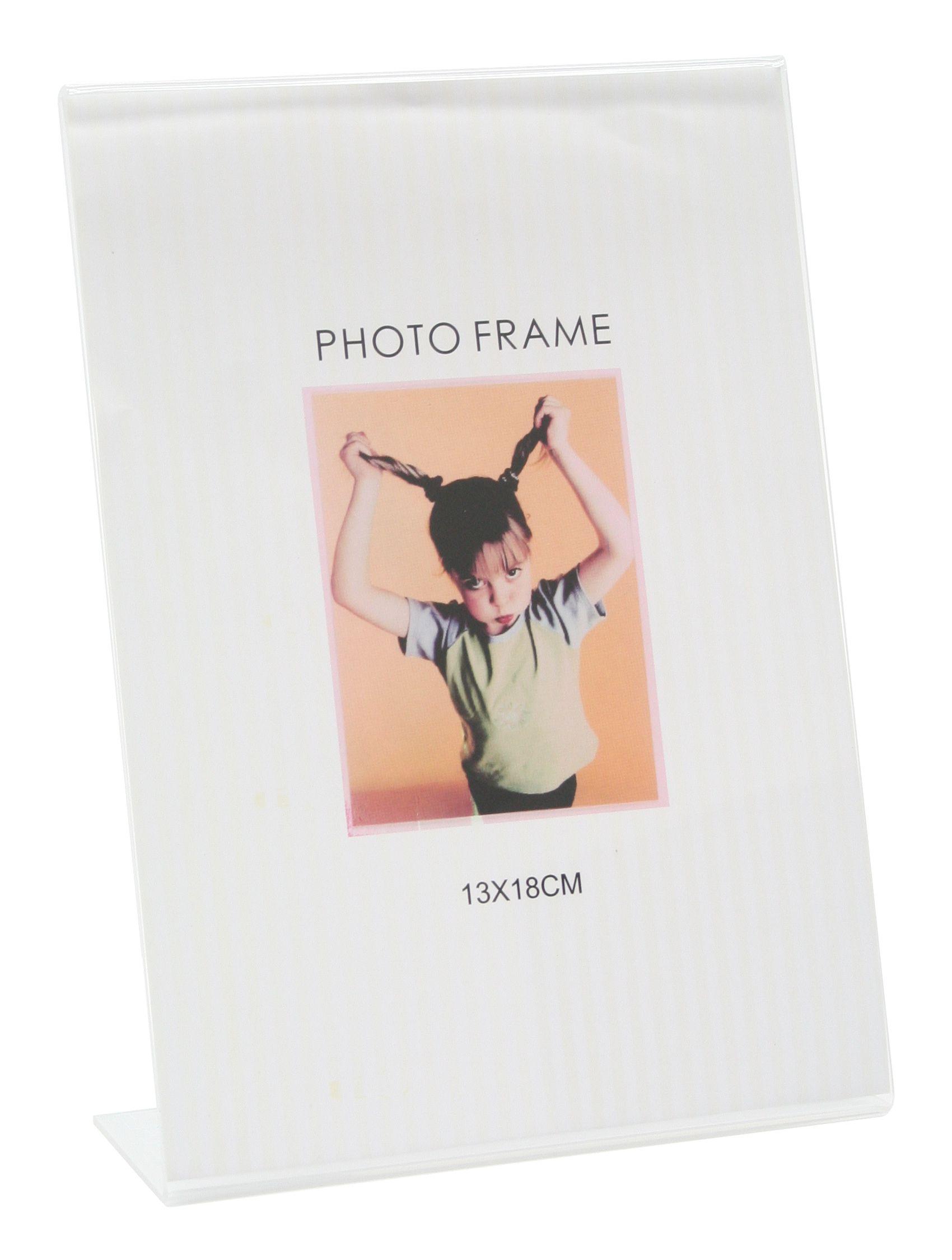 Kader met voet in kunststof voor een verticale foto S58RL1 V