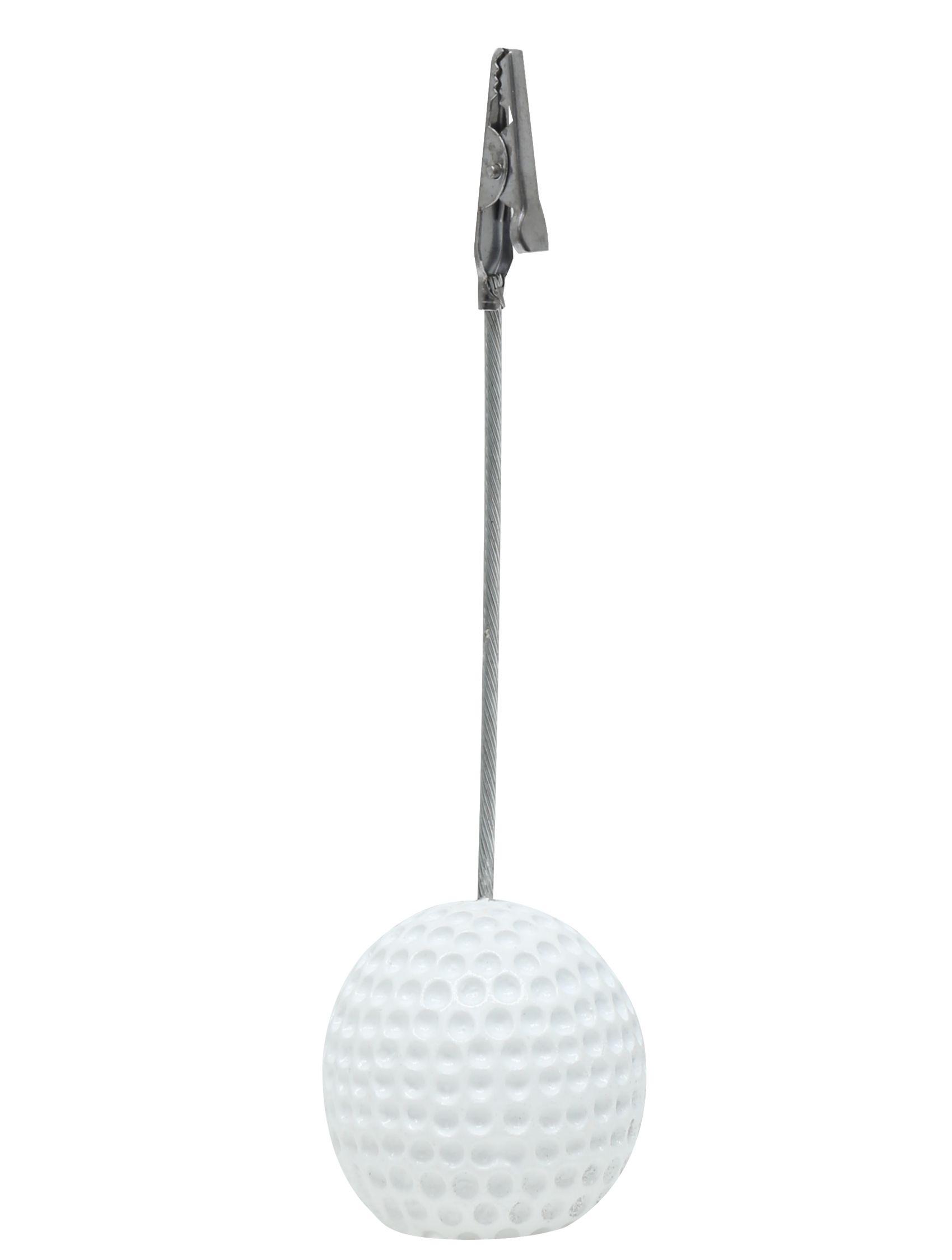 fotoclip met golfbal, 12,5cm hoog S65CN1