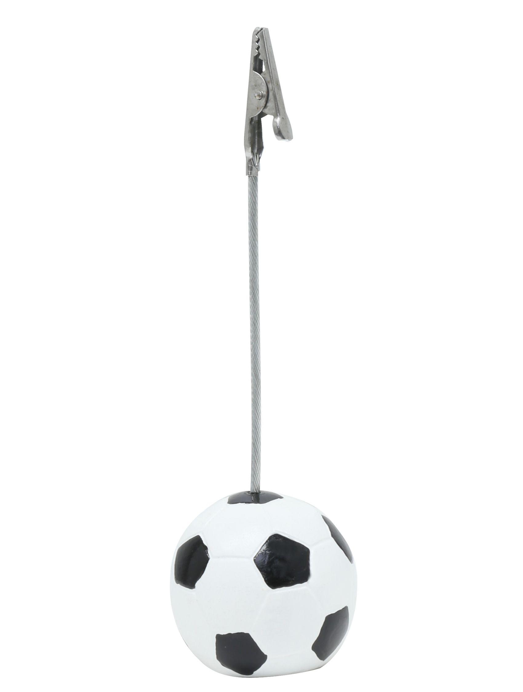 fotoclip met voetbal, 12,5cm hoog S65CN2