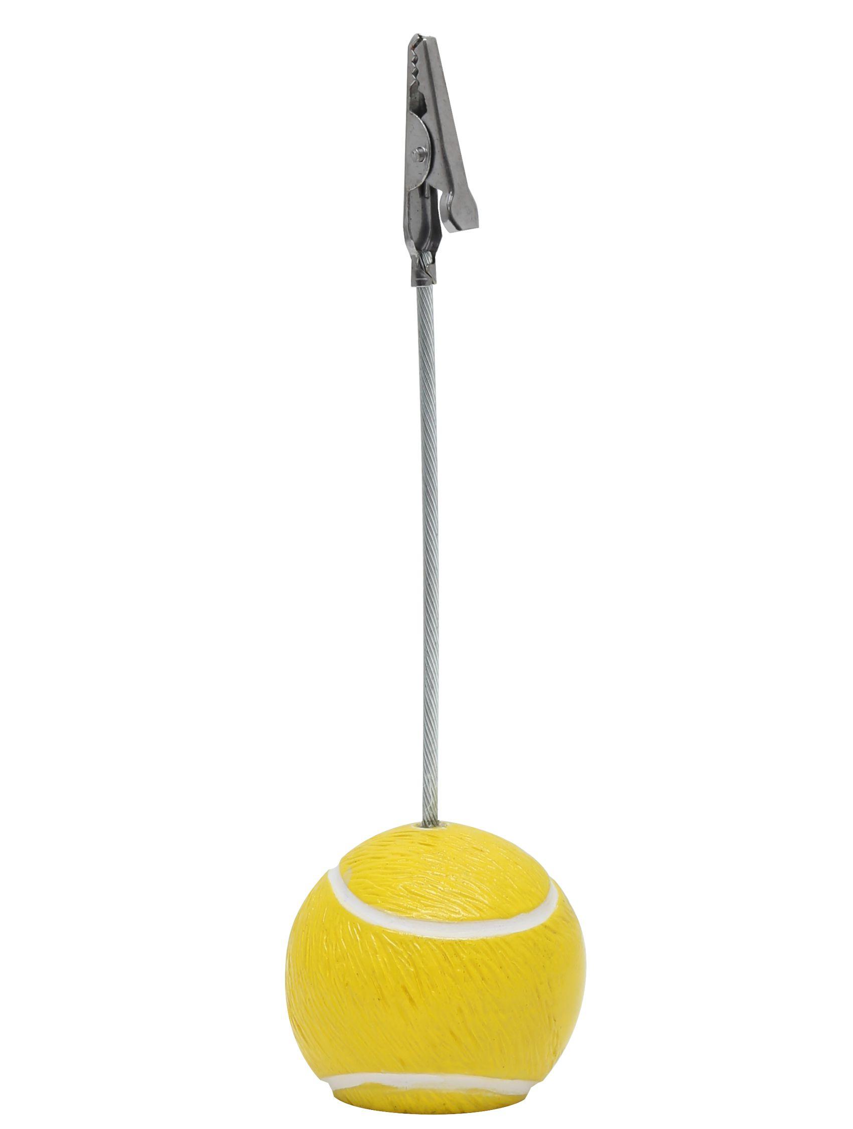 fotoclip met tennisbal, 12,5 cm hoog S65CN3