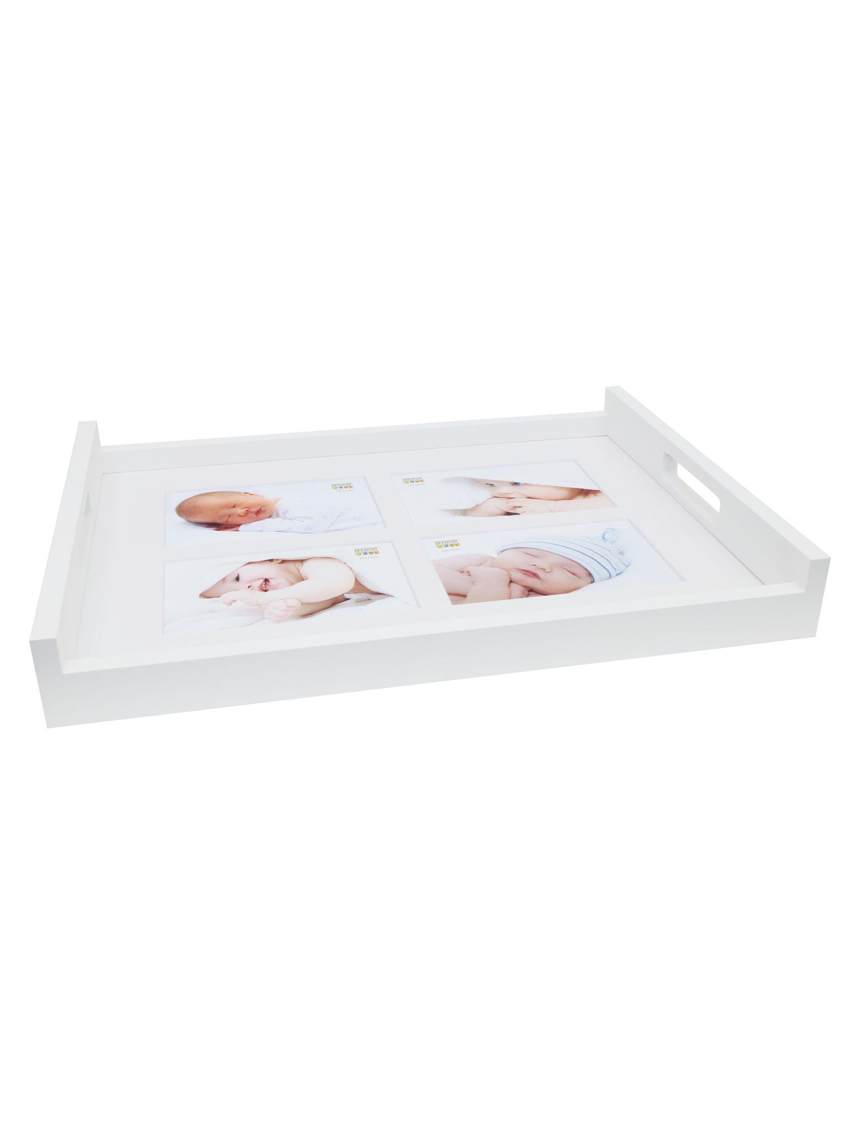 Dienblad wit, 4x (10x15cm) S65DD1 E4