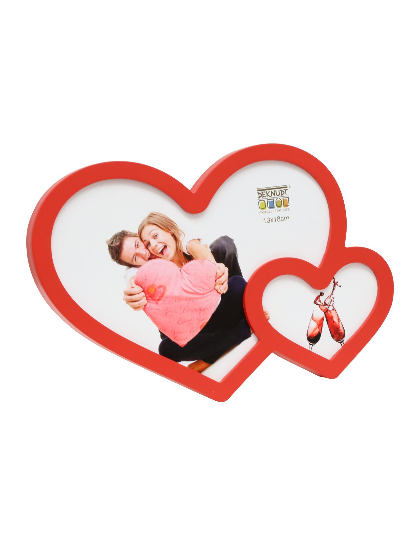 Dubbel hart, rood S66RG4 E2
