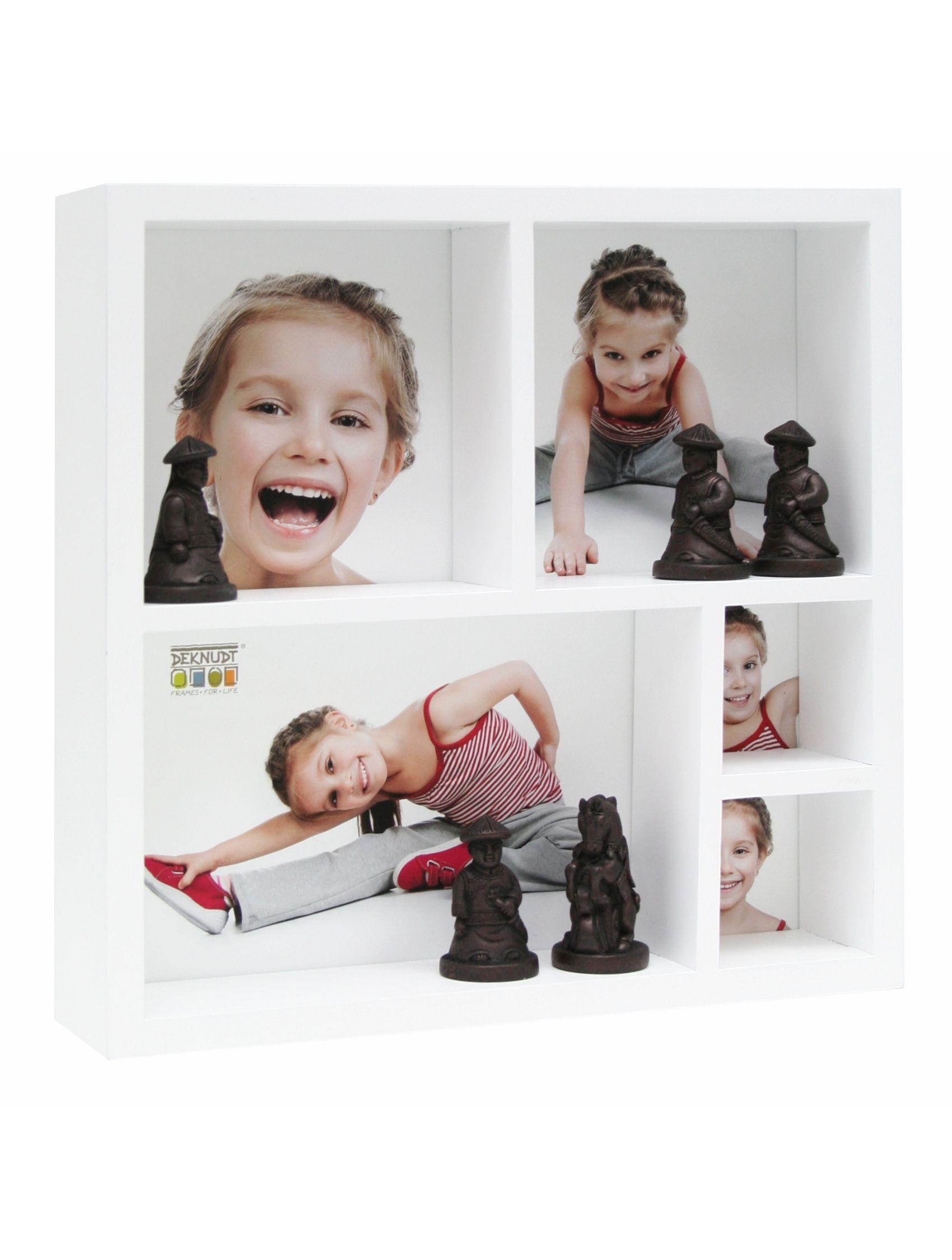 Foto-verzamelbox wit voor 5 foto's (20x20cm) S66XL1 E5