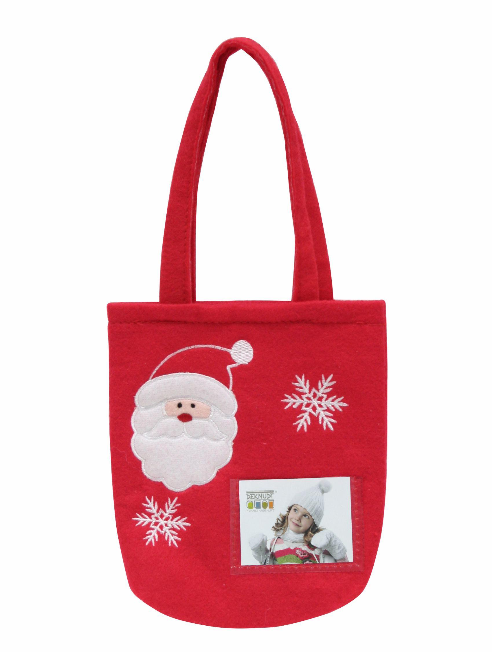 Kerst geschenktas klein (15x17cm) voor foto 4,5x6cm S67HC2