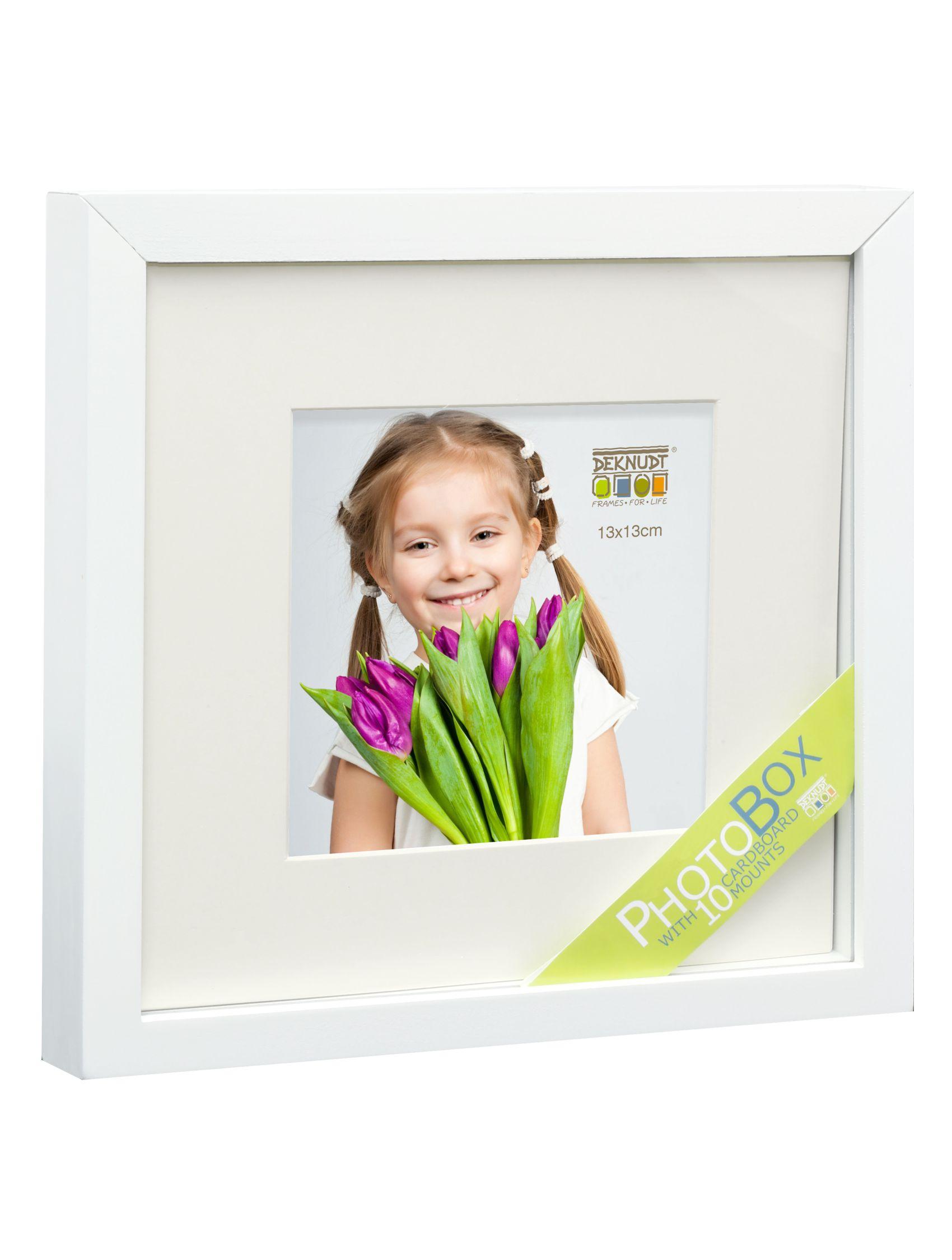 Fotodoos wit met 10 passe-partouts en eenzijdige kleefkartons S67PK1 P1