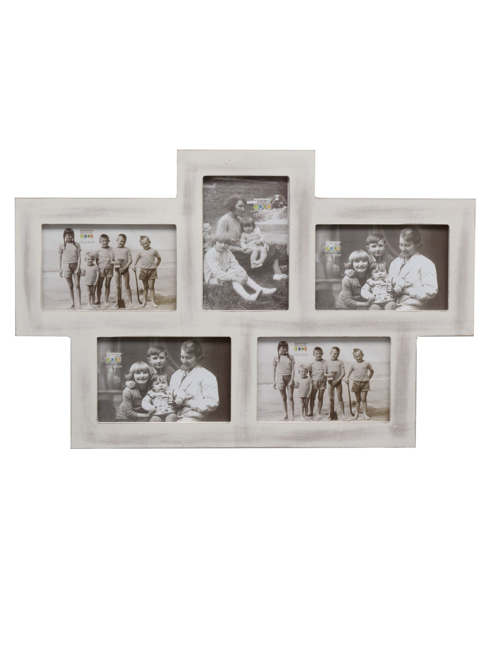 multifotolijst wit hout S67TM1 P5